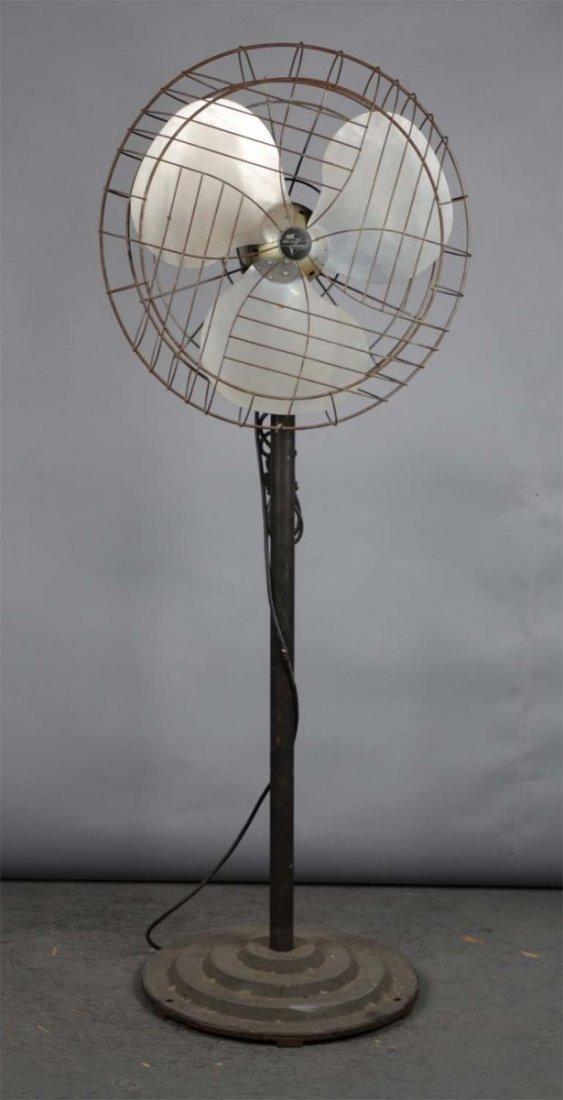 Vintage Emerson Electric Floor Model Electric Fan
