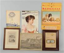 Lot of 6 Brewery Advertising Items