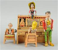 Lil' Abner Dogpatch Band Wind-Up Toy.