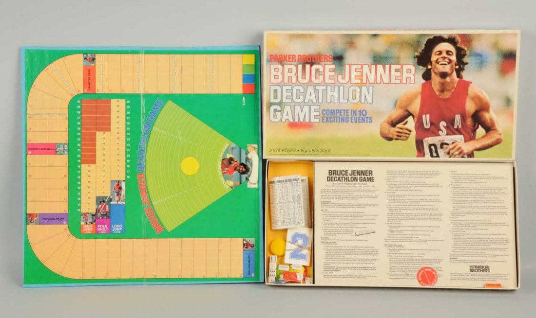 Parker Bros. Bruce Jenner Decathlon Game.
