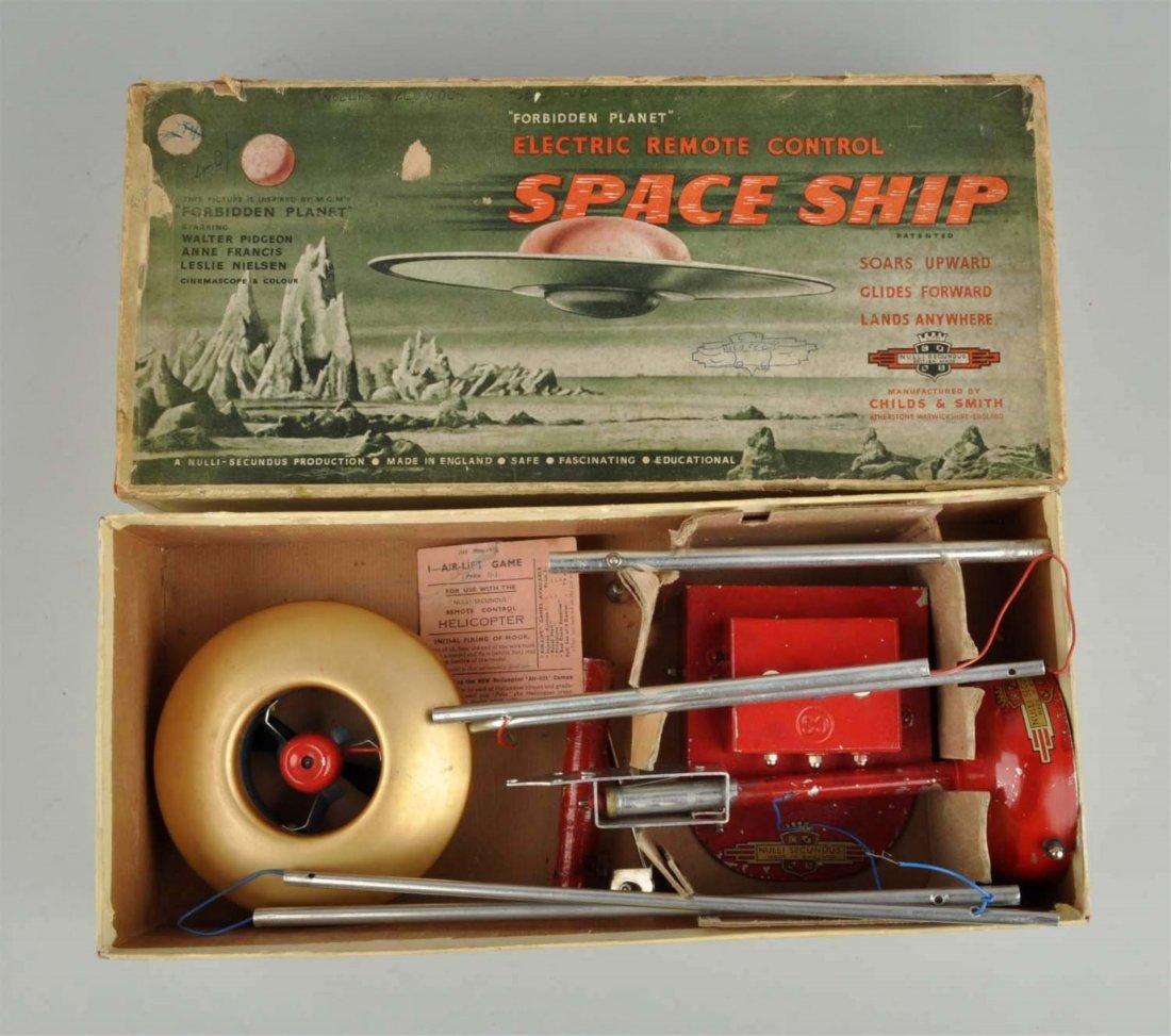English Diecast Remote Control Spaceship Toy.