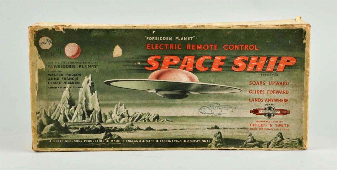 English Diecast Remote Control Spaceship Toy. - 2