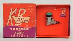 KB Allyn Vintage Airplane Engine