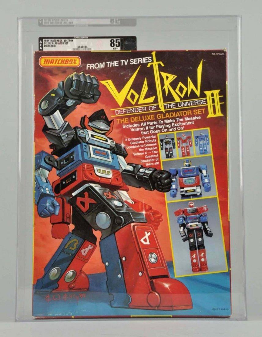Matchbox Voltron II Deluxe Gladiator Set.
