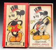 Scarce Mickey Mouse DeLuxe Wrist Watch.