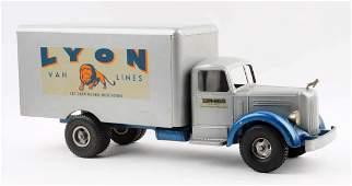 1950s Smith Miller L Mac Lyons Van Lines Truck