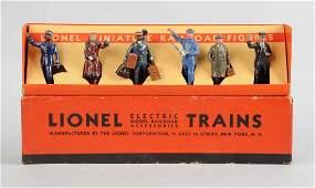 Lionel Railroad Figures.