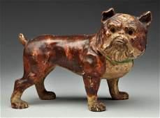 Cast Iron English Bulldog Doorstop.
