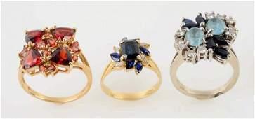 Lot Of 3: Rings.