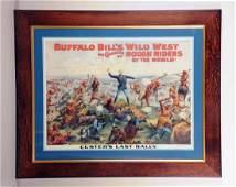 Buffalo Bills Wild West Poster.