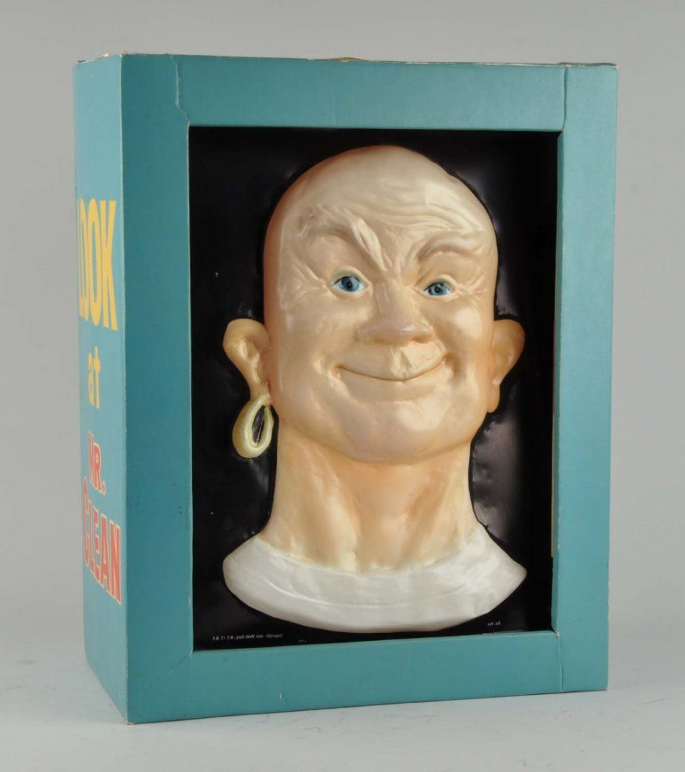 Large 1960s Mr. Clean Illuminated Store Display.