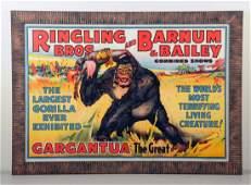 c1940 Ringling BrosBarnum Bailey Circus Poster