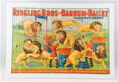Ringling BrosBarnumBailey Circus Poster