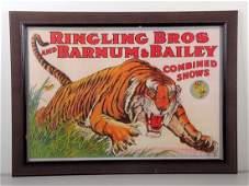 c1960s Ringling BrosBarnum Bailey Circus Poster
