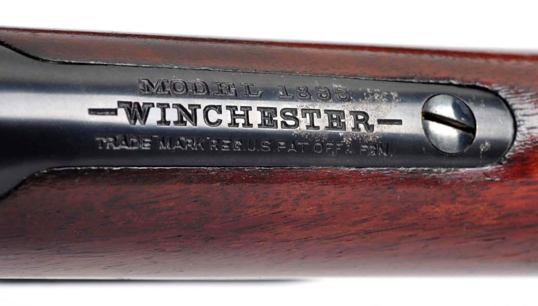 **English Cased Dealer Marked 1895 Winchester .405 - 6
