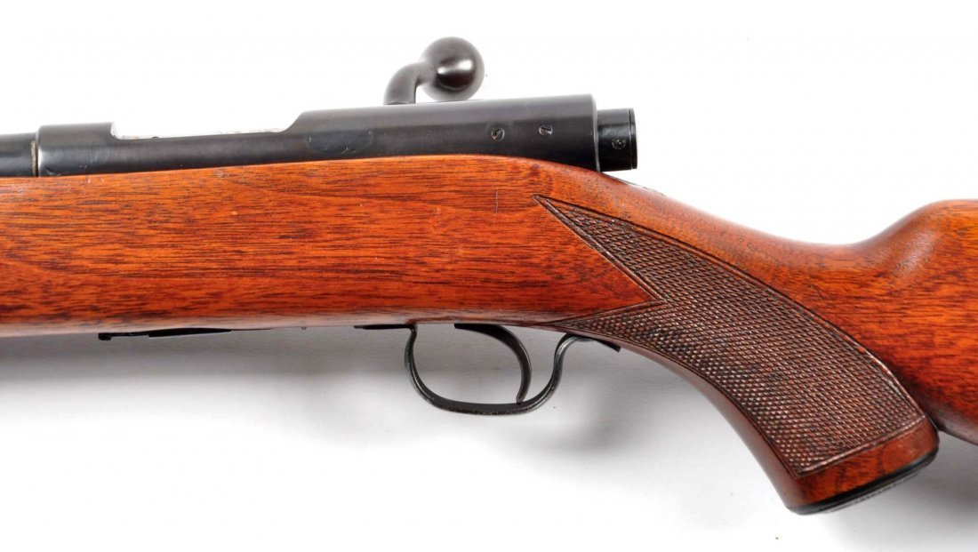 **Fine Winchester Model 43 B.A. Rifle (.22 Hornet) - 4