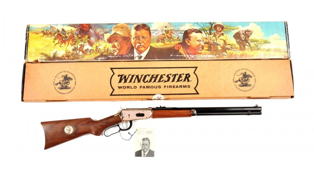 **Winchester Teddy Roosevelt Commemorative Carbine