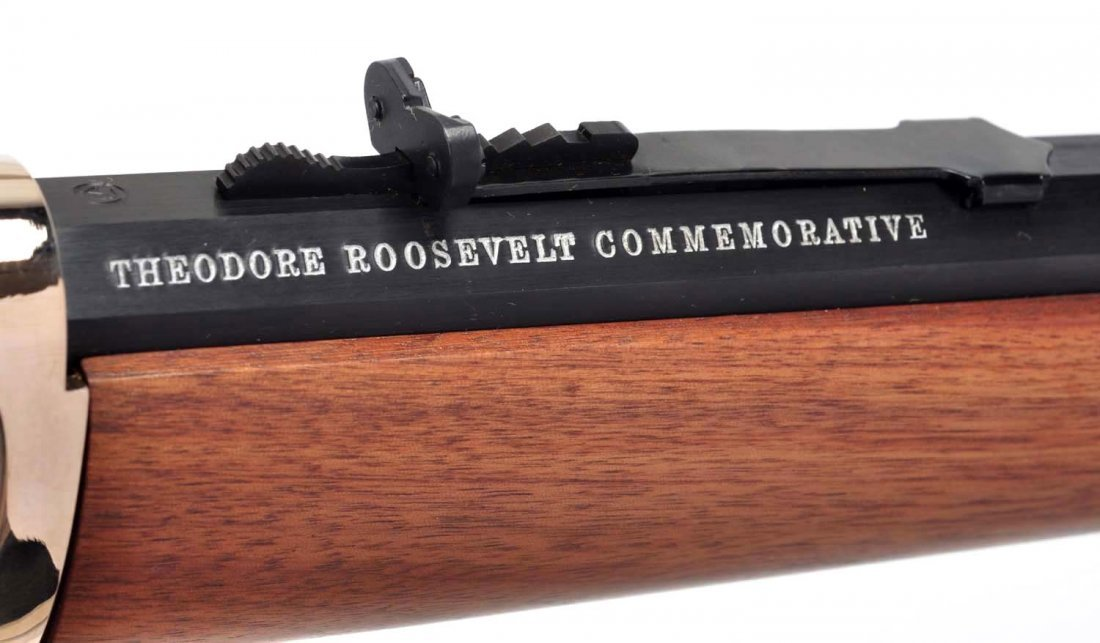 **Winchester Teddy Roosevelt Commemorative Carbine - 2