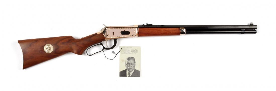**Winchester Teddy Roosevelt Commemorative Carbine - 5