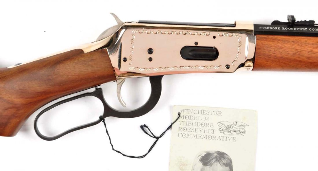 **Winchester Teddy Roosevelt Commemorative Carbine - 7