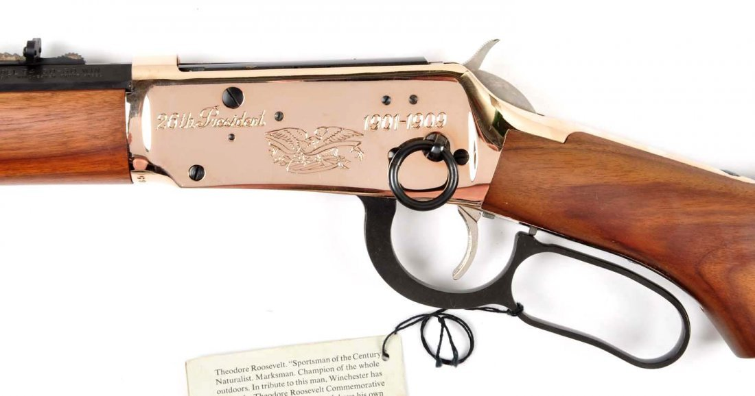 **Winchester Teddy Roosevelt Commemorative Carbine - 8