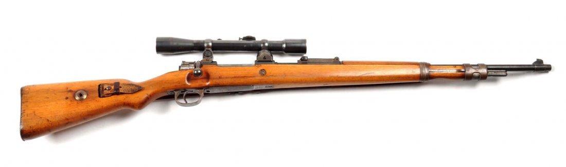 **Mauser Model 98 K Sniper Rifle.