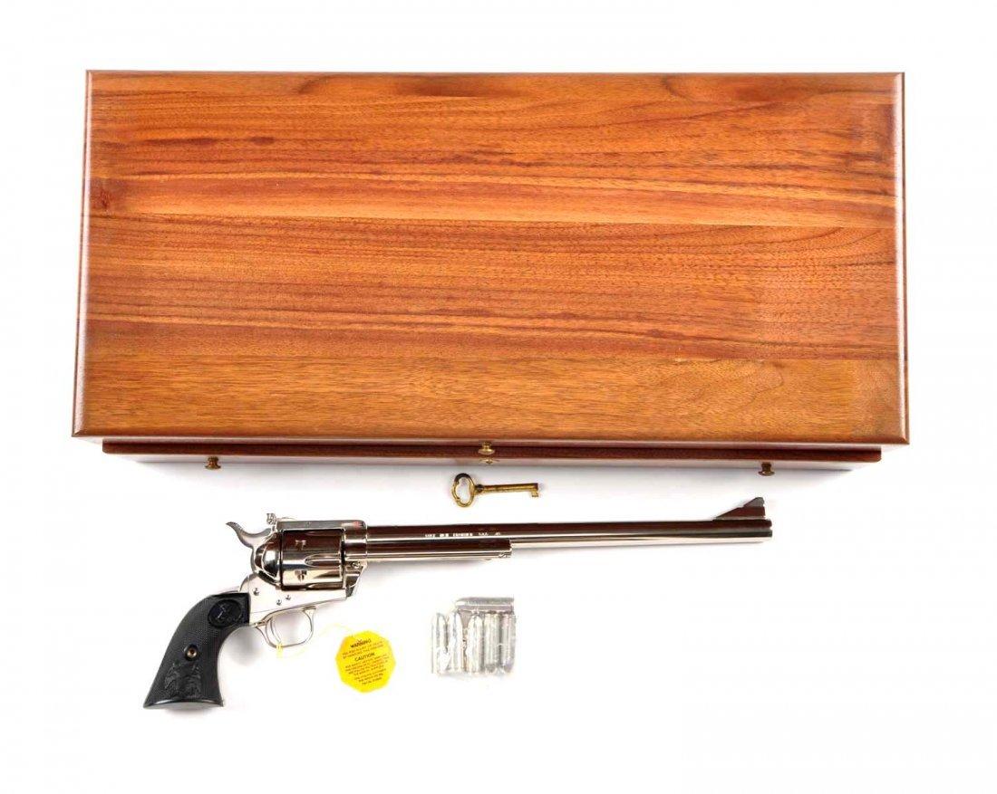 **MIB Cased Colt SAA Ned Buntline Revolver.