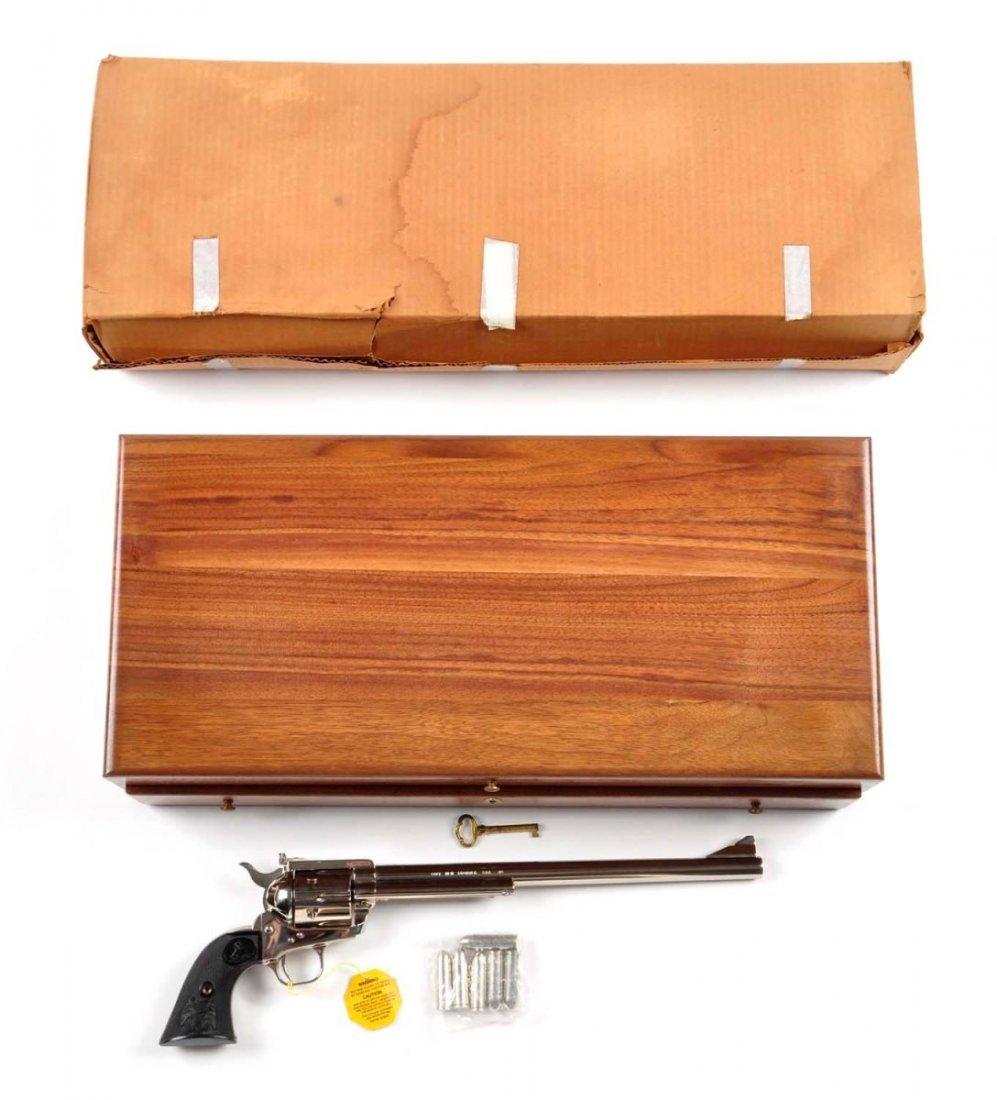 **MIB Cased Colt SAA Ned Buntline Revolver. - 9