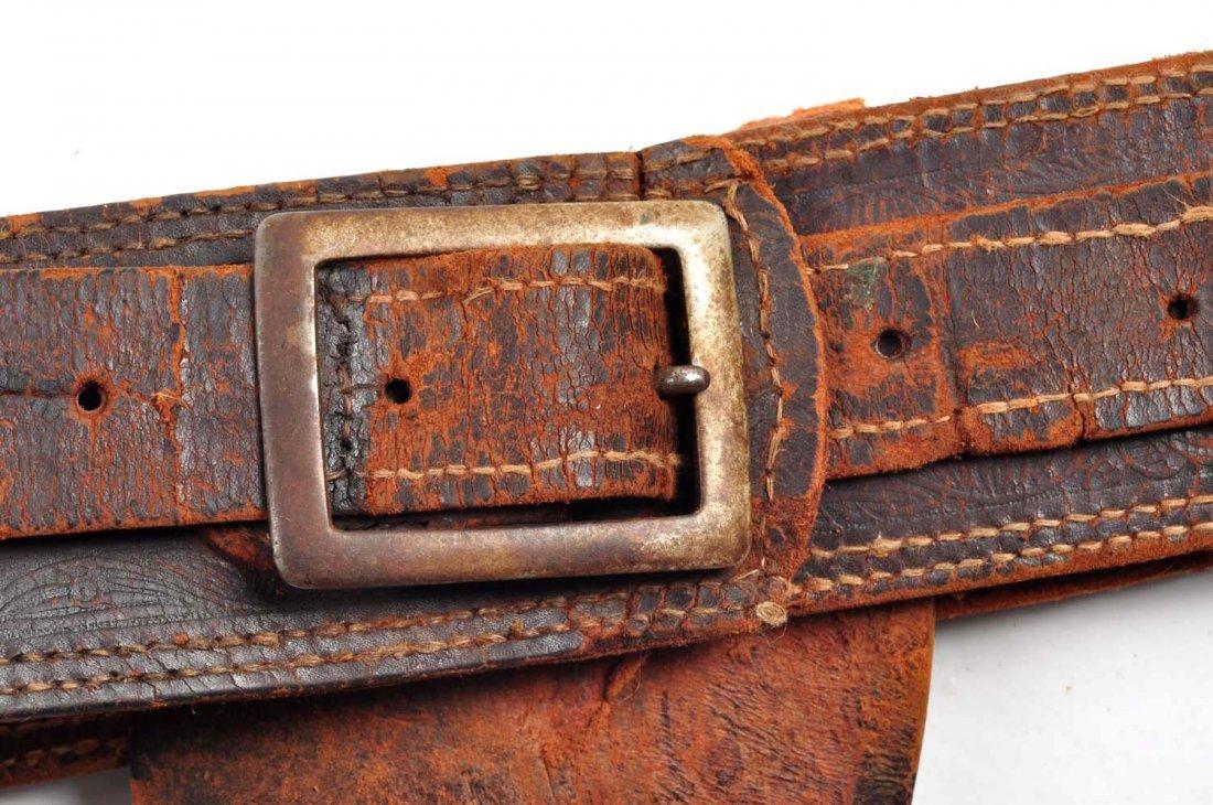 Lot Of 3: Vintage Western Gun Rigs/Holsters. - 2