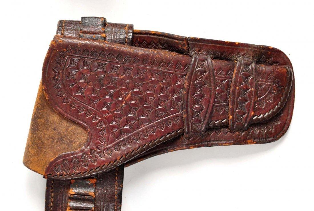 Lot Of 3: Vintage Western Gun Rigs/Holsters. - 5