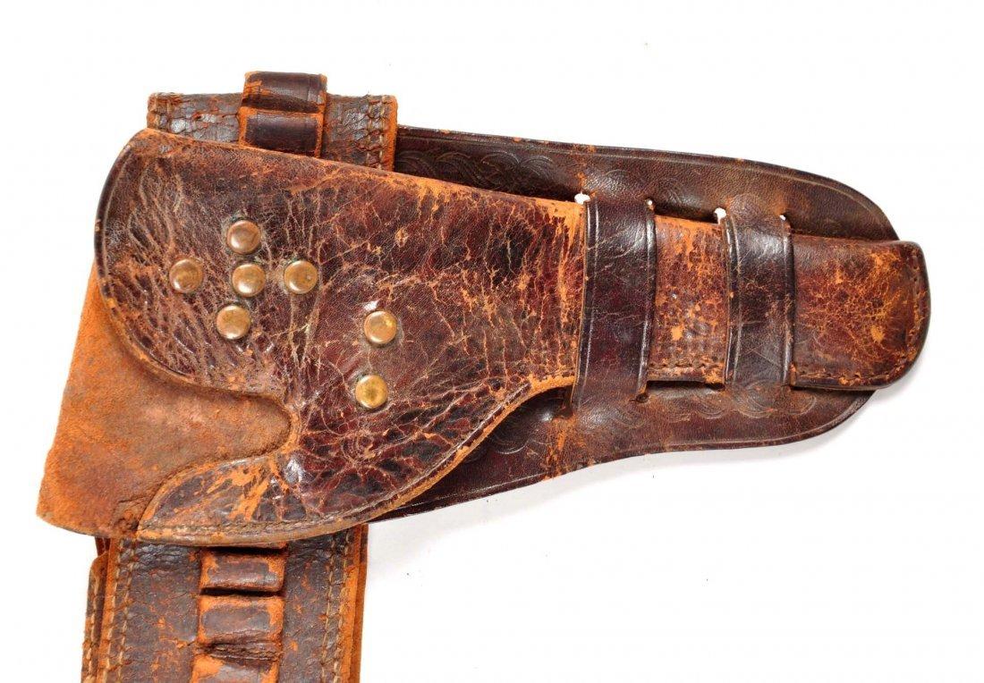 Lot Of 3: Vintage Western Gun Rigs/Holsters. - 6