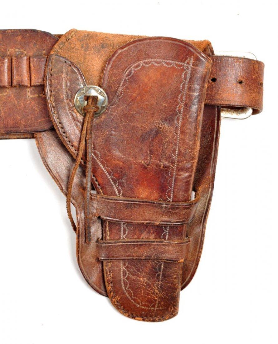 Lot Of 3: Vintage Western Gun Rigs/Holsters. - 7