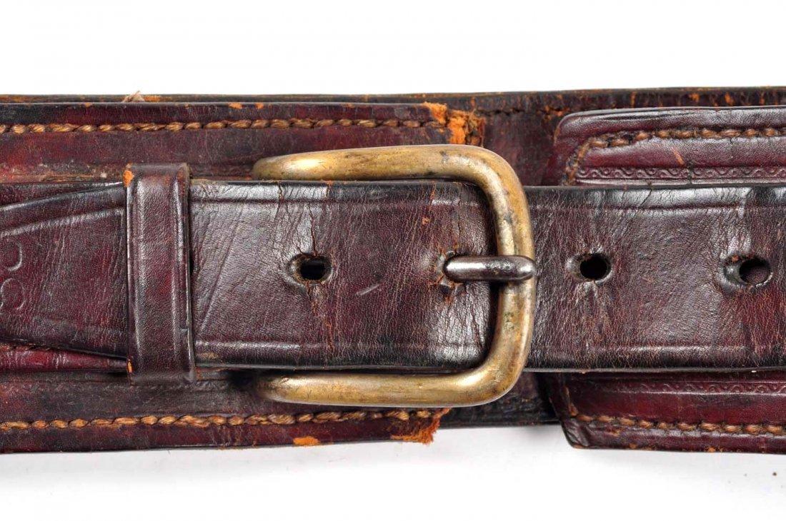 Lot Of 3: Vintage Western Gun Rigs/Holsters. - 9