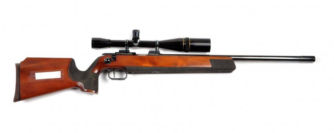 **Anschutz Model 54MS Silhouette Target Rifle.