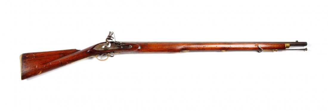 Model 1835 British Smooth Bore Musket.