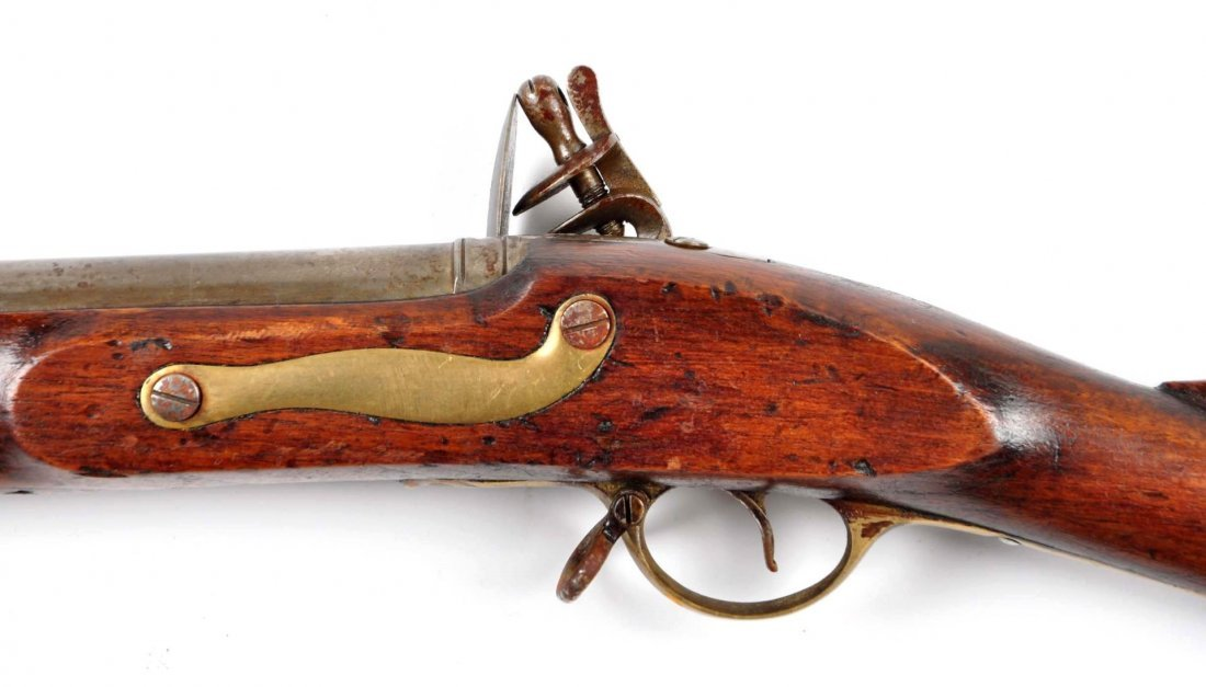 Model 1835 British Smooth Bore Musket. - 4