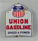 Union Oil Company Porcelain Sign