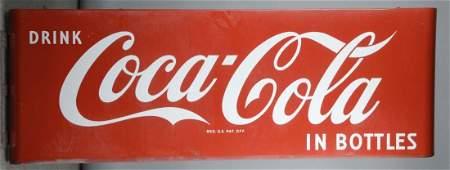 Large Dimensional Drink Coca Cola In Bottles Sign