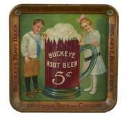 Buckeye Root Beer Tin Serving Tray