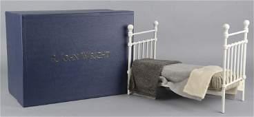 R John Wright Pooh Bears Bed Toy