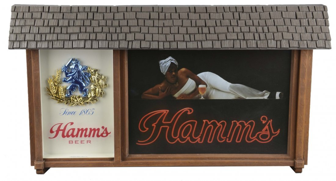 Hamm's Beer Lighted Advertising Sign