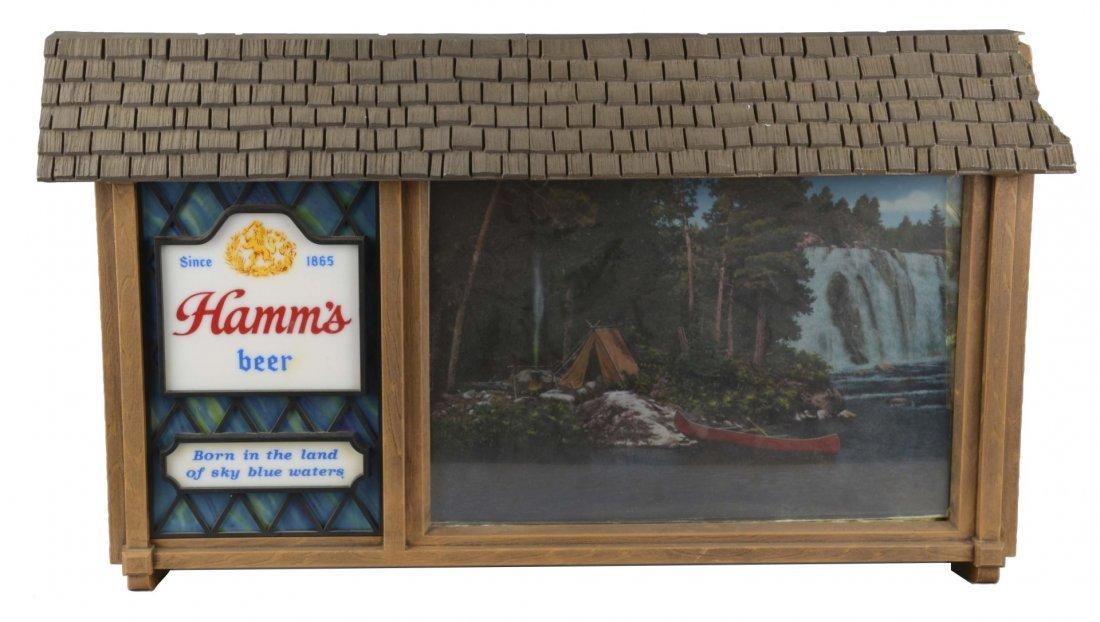 Hamm's Beer Scene-O-Rama Motion Sign