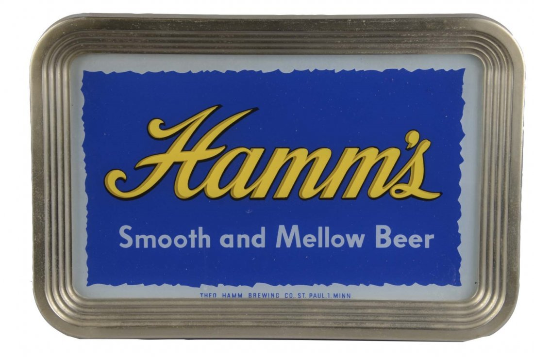 Hamm's Smooth and Mellow Beer Advertising Light