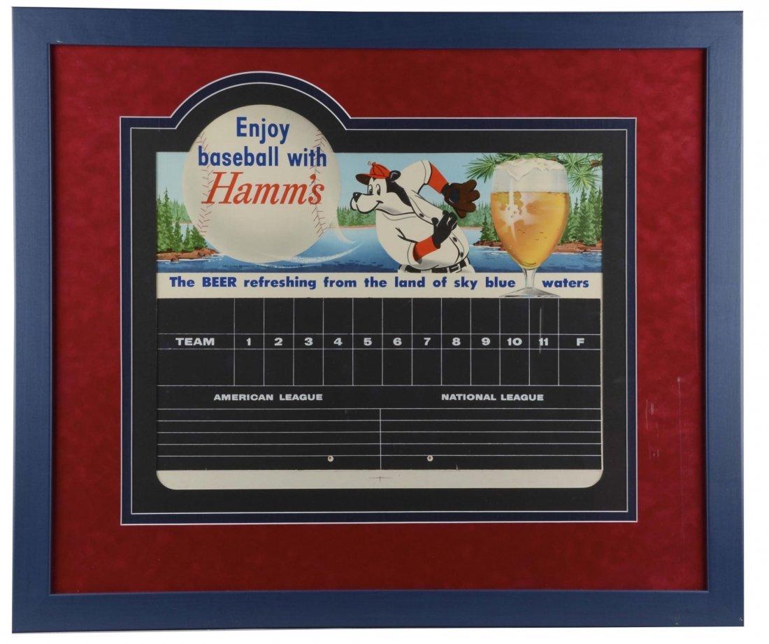 Hamm's Beer Advertising Poster