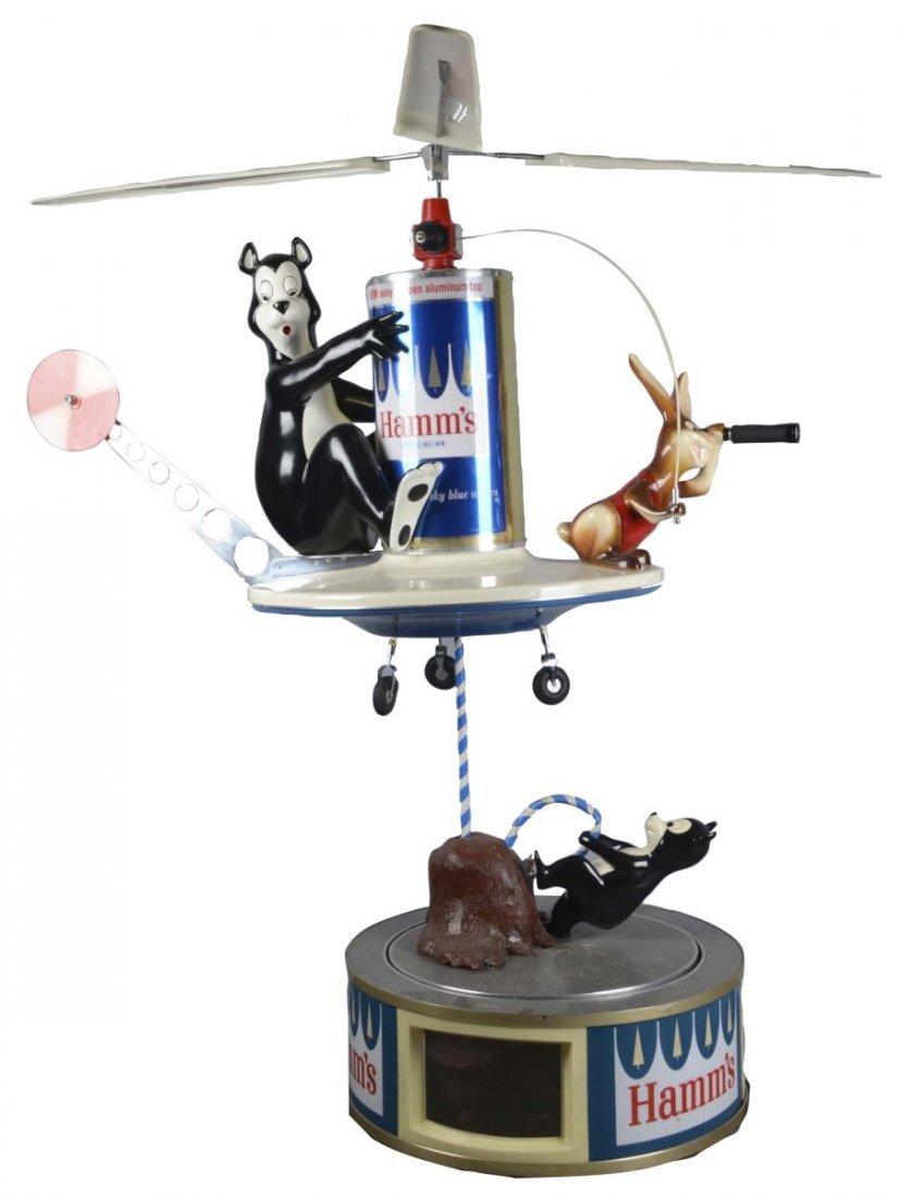 Hamm's Beer Paul Stanley Motion Display