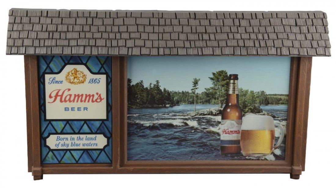 Hamm's Beer Scene-O-Rama Advertising Sign