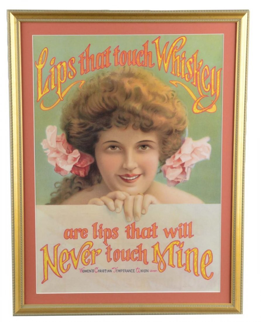 Women's Christian Temperance Union Advertisement