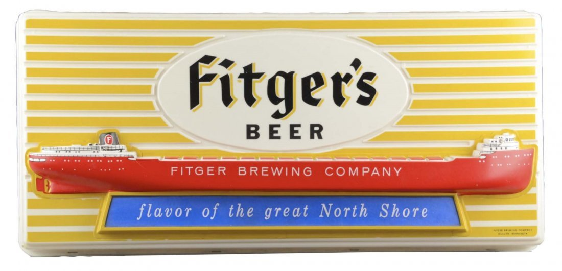 Fitger's Beer Lighted Advertising Sign