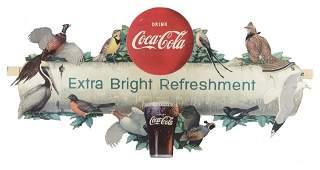Coca Cola State Birds Festoon Advertising Display