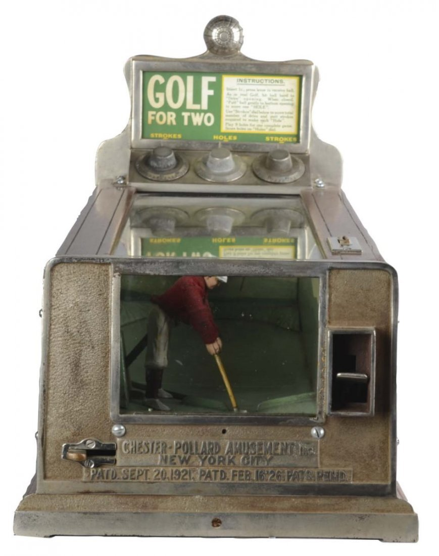 1 Chester Pollard Golf for Two Coin Op Game
